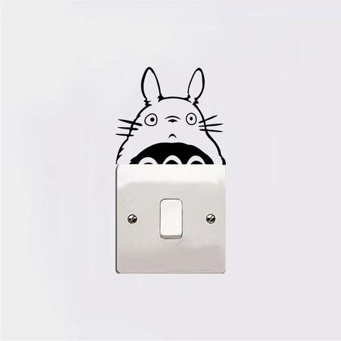 Totoro Lightswitch Sticker