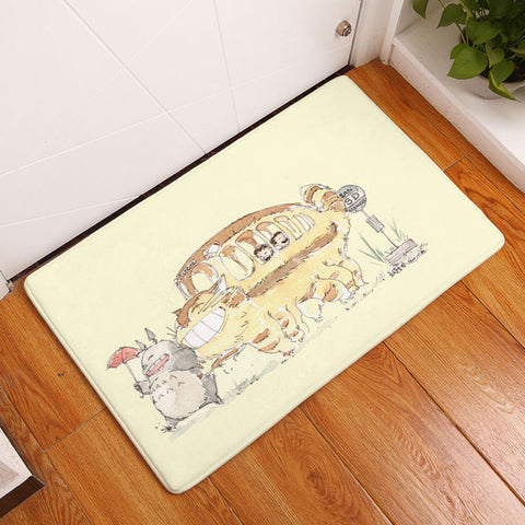 Playful Character Door Mat