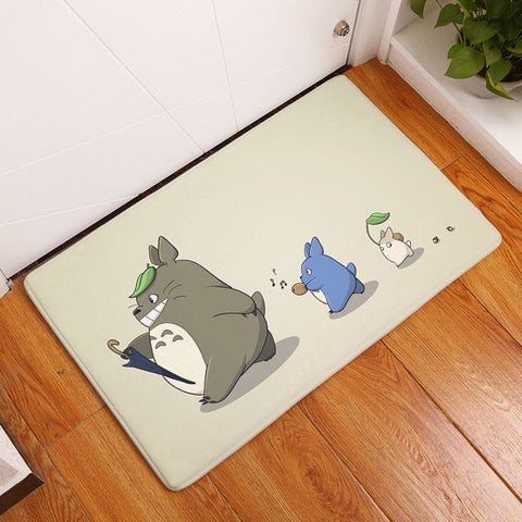 Follow Totoro Door Mat