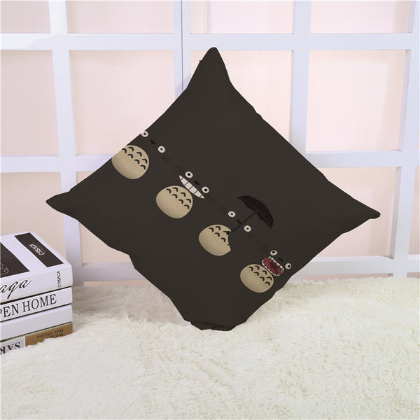 Quadruplets Totoro Cushion Cover - Studio Ghibli Shop