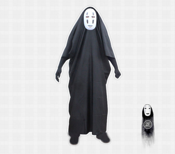 No Face Cosplay Costume Set - Studio Ghibli Shop