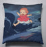 Big Waves Cushion Pillow - Studio Ghibli Shop