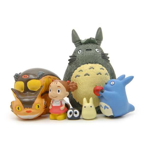 Anime Totoro Garden Figure Set - Studio Ghibli Shop