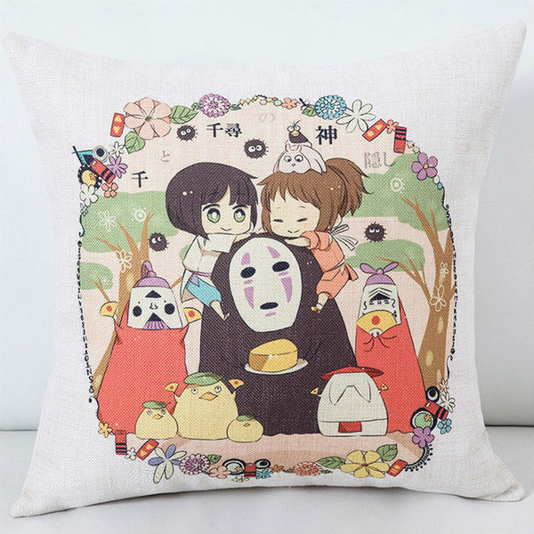 Ghibli Cuddles Cushion Cover - Studio Ghibli Shop