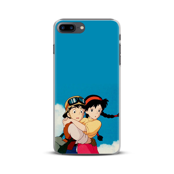 Hugging Sheets and Pazu Apple iPhone Case - Studio Ghibli Shop