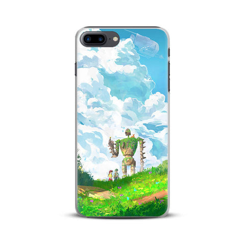 Castle in the Sky Robot iPhone Case