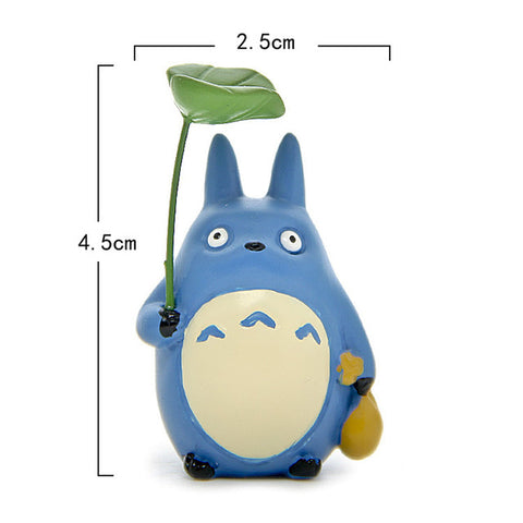 Adorable Totoro Leaf Figure