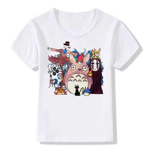 Colorful Spirited Away Shirt