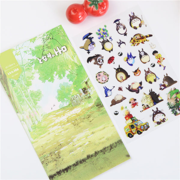 Totoro Sticker Pack - Studio Ghibli Shop