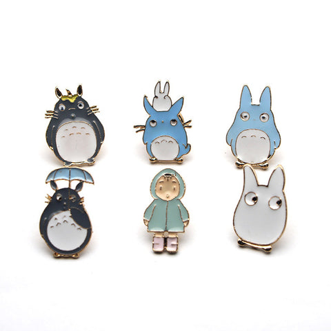Totoro Pin Badge Collection