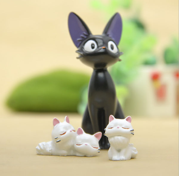 Kiki Black Cat Ornament Set - Studio Ghibli Shop