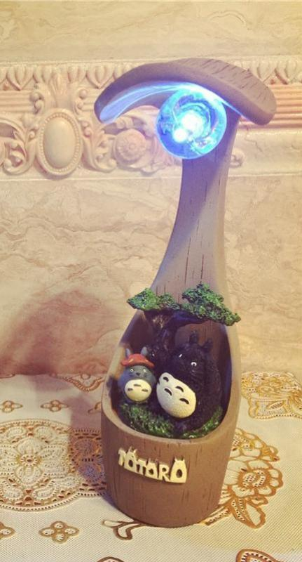 Father and Son Totoro Night Light - Studio Ghibli Shop