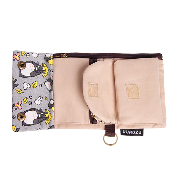 Kumamon Totoro Bear Wallet - Studio Ghibli Shop
