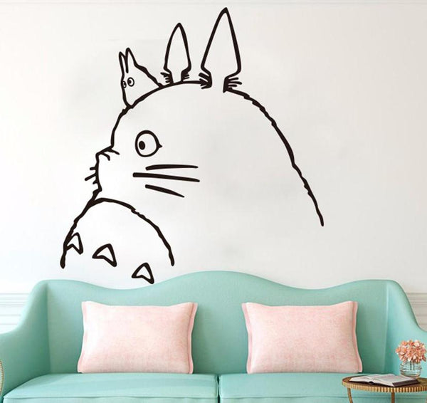 Big Totoro Sticker - Studio Ghibli Shop