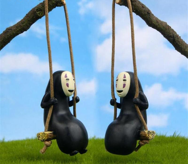 Hanging No face Action Figure - Studio Ghibli Shop