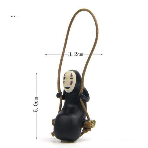 Hanging No face Action Figure