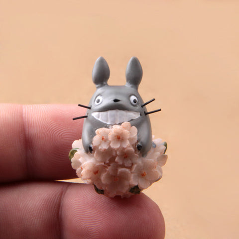 Totoro with Chrysanthemums