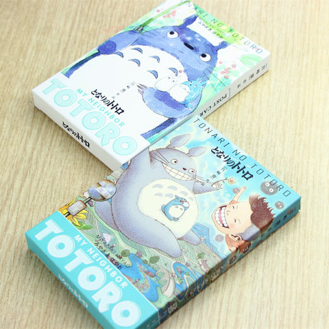 Postcards greetings cards cute totoro letter gift card m4hsunfo