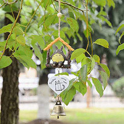 Wooden House Wind Chime - Studio Ghibli Shop