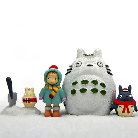 Totoro Winter Christmas Figure