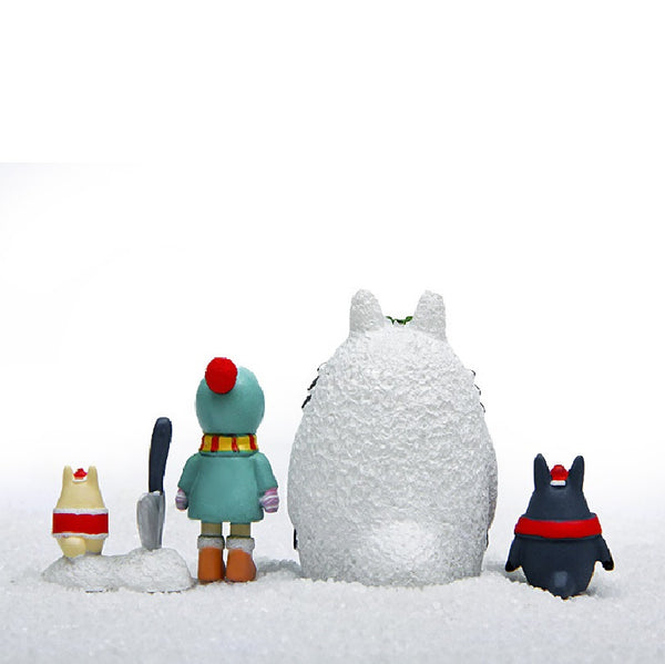 Totoro Winter Christmas Figure - Studio Ghibli Shop