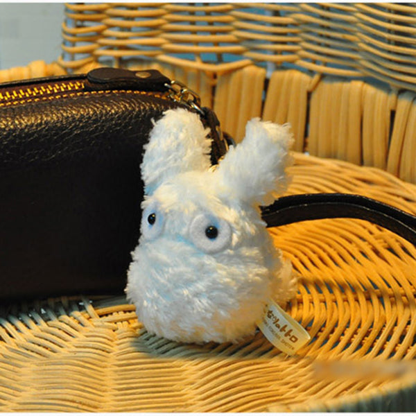White Totoro Soft Plush Toy - Studio Ghibli Shop