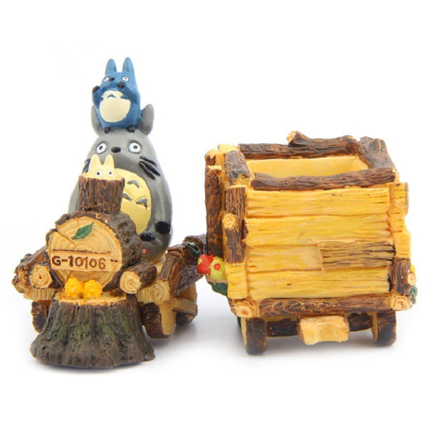 My Neighbor Totoro Mini Train Flower Pot - Studio Ghibli Shop