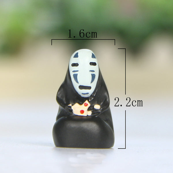 Spirited Away No Face Figures Toys - Studio Ghibli Shop