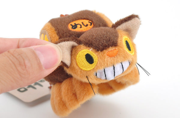 Catbus Doll Key Chain - Studio Ghibli Shop
