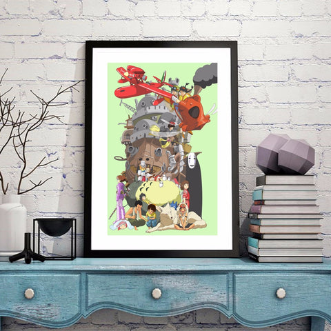 Anime Canvas Poster
