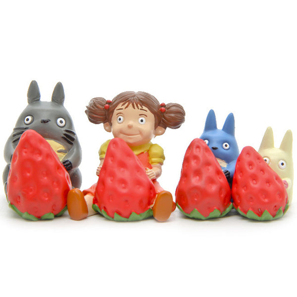 Different Totoro Action Figure - Studio Ghibli Shop