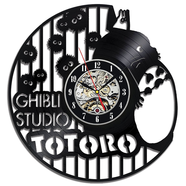 Antique Wall LED Clock Totoro - Studio Ghibli Shop