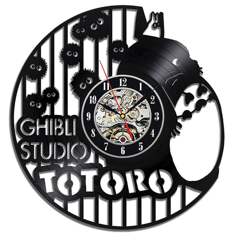 Antique Wall LED Clock Totoro