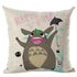 Happy Happy Totoro Cushion Cover - Studio Ghibli Shop