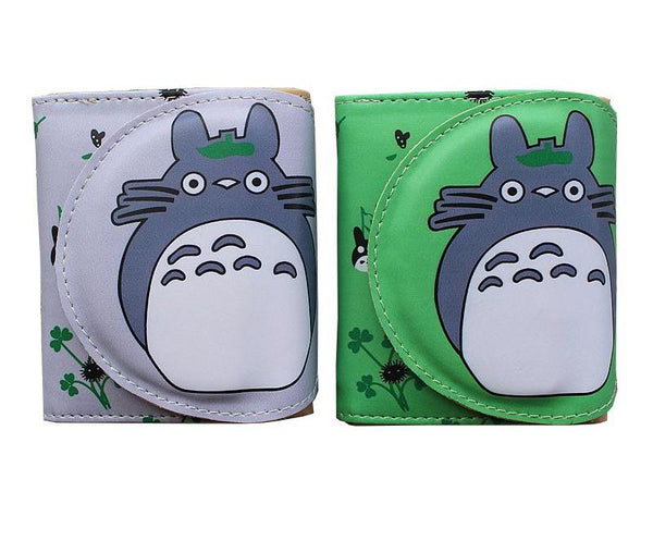Simple Totoro Short Wallet - Studio Ghibli Shop