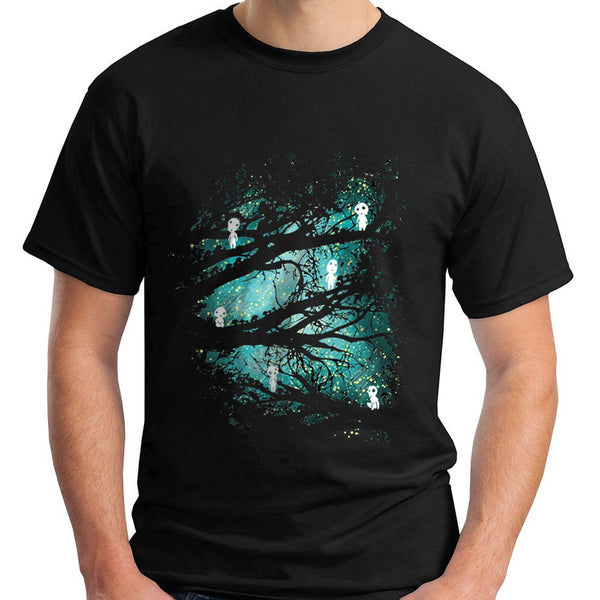 Mononoke Forest T-shirt - Studio Ghibli Shop