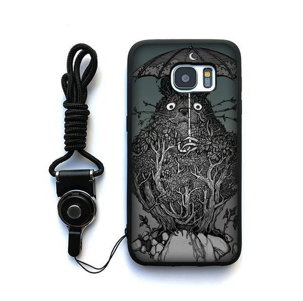 Dark Totoro Samsung Galaxy Case - Studio Ghibli Shop
