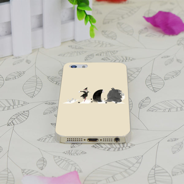 Transparent Thin iPhone Cover - Studio Ghibli Shop