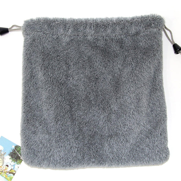 Drawstring Totoro Soft Bag - Studio Ghibli Shop