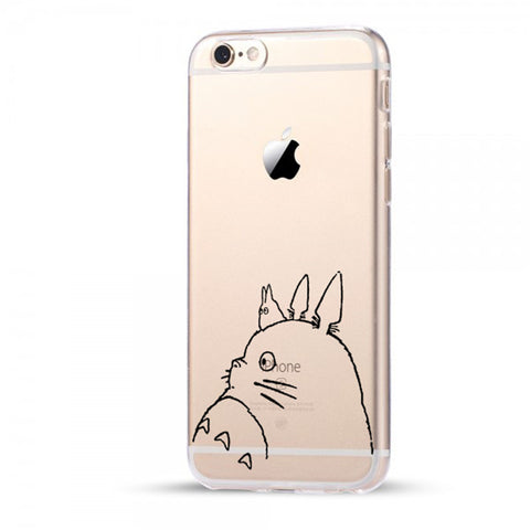 Totoro Side View iPhone Case