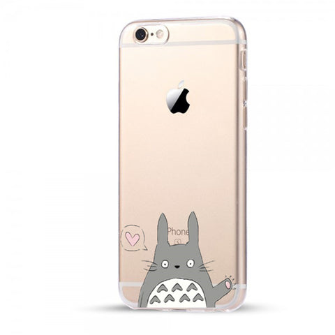 Waving Totoro iPhone Case