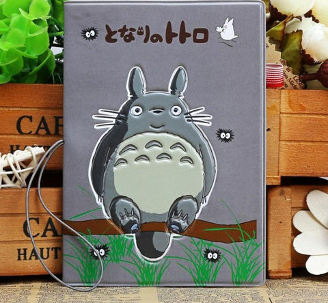 Stereo Totoro Passport Holder