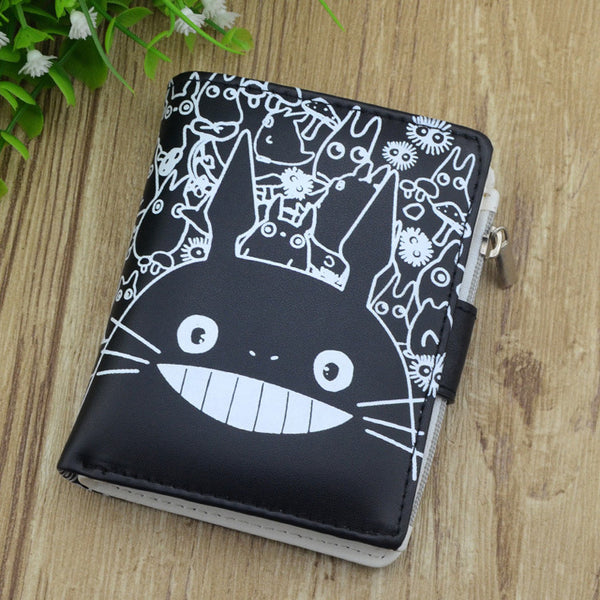 Japan Leather Totoro Wallet - Studio Ghibli Shop