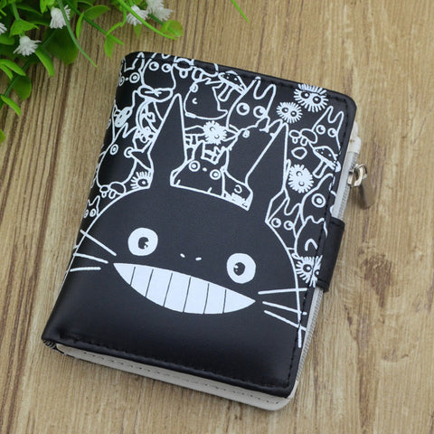 Japan Leather Totoro Wallet