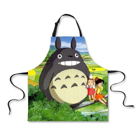 Home Cooking Totoro Apron