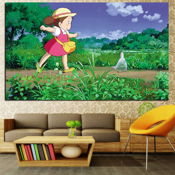 Mei The Explorer Poster - Studio Ghibli Shop