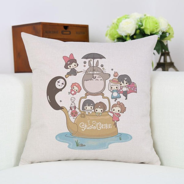 Genie Lamp Cushion Cover - Studio Ghibli Shop