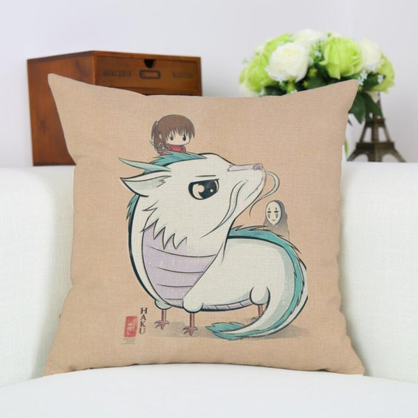 Baby Haku Cushion Cover - Studio Ghibli Shop