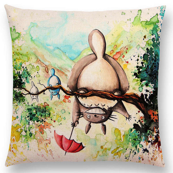 Looking Under Cushion Cover - Studio Ghibli Shop