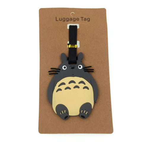 Luggage Totoro Tag Holder